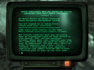 FO3 Weise's terminal
