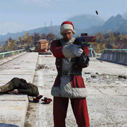 FO76 Atomic Shop outfit mrclaus c2