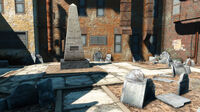 Fo4 Old Granary burying ground (Franklin Obelisk)