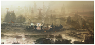 Art of Fallout 4 Diamond City