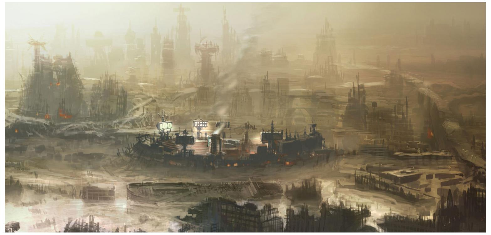 Art of Fallout 4 Diamond City