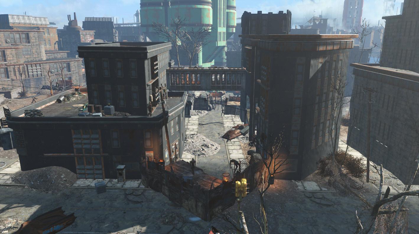East C I T  raider camp | Fallout Wiki | FANDOM powered by Wikia