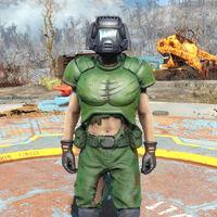 Doom Marine Armor Fallout Wiki Fandom