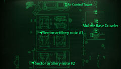 Fo3BS sector artillery notes