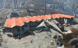 Fo4 location Roadside Pines motel