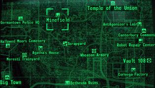 Minefield loc