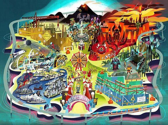Bethesda Land E3 Showcase