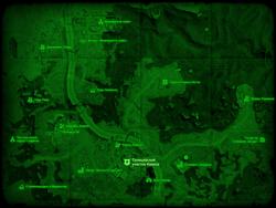 FO4 Полицейский участок Квинси (карта мира)
