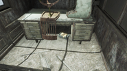 FO4 Caps Stash in Fraternal Post 115