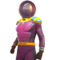 FO76LR Captain Cosmos Outfit Pink
