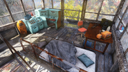 FO76 Flatwoods lookout interior