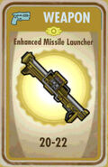 FoS Enhanced Missile Launcher Card