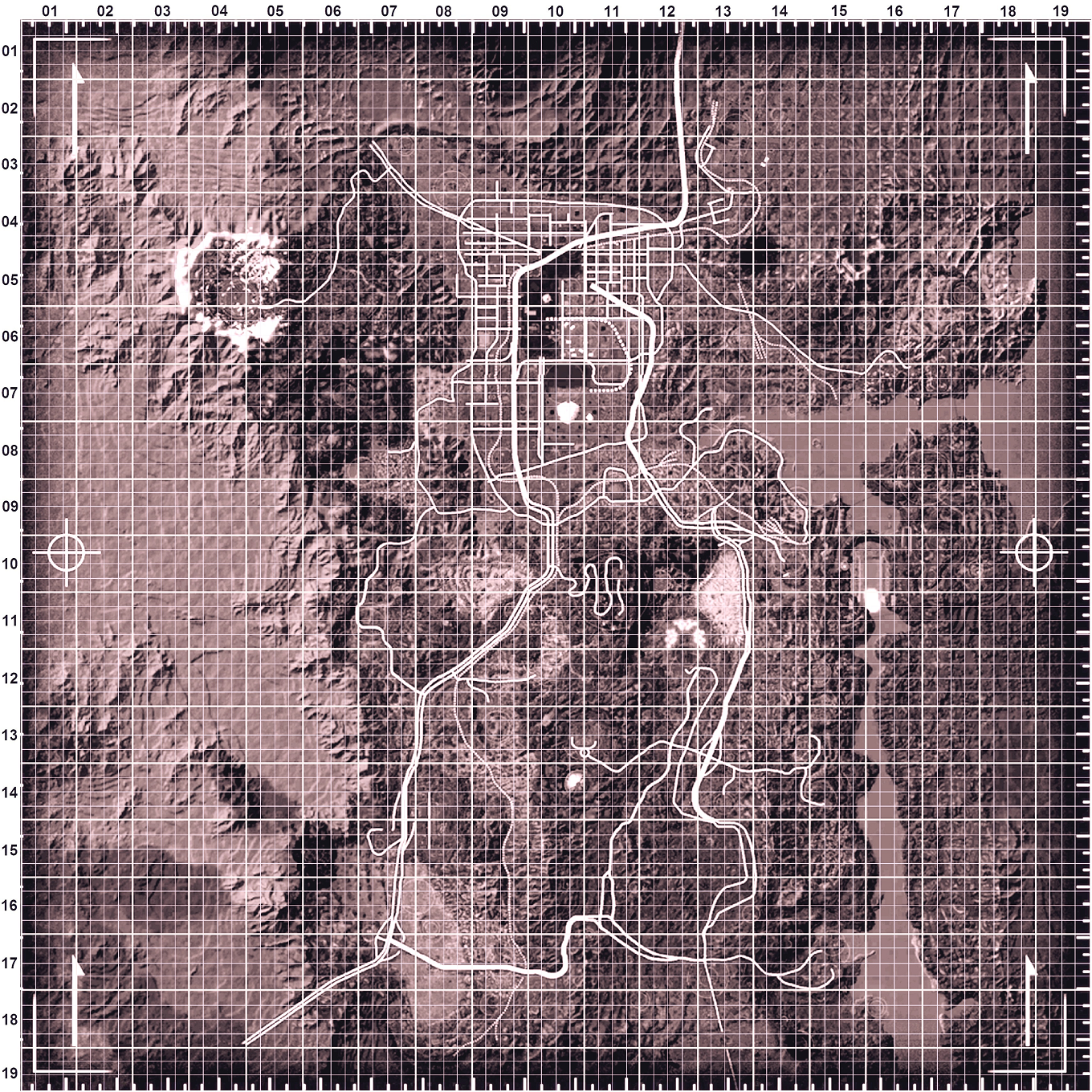 Image - New Vegas Clean Map 1360x1360.png | Fallout Wiki | FANDOM ...