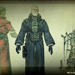 Писар Братства / Старійшина (концепт-арт)