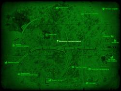 FO4 Маленькая торговая хижина (карта мира)