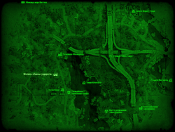 FO4 Мотель «Сосны у дороги» (карта мира)