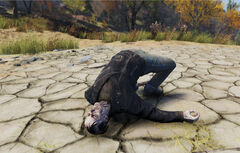 FO76 Greaser Corpse
