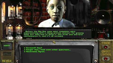 Fallout 2 myron drugs speech