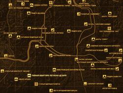 FNV Карта ТАЙНАЯ КВАРТИРА ЛЕГИОНА ЦЕЗАРЯ