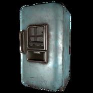 FO4 House Ruin Refrigerator Blue