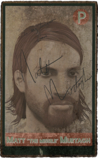 FO4 Matt Murtagh Signedbaseball card