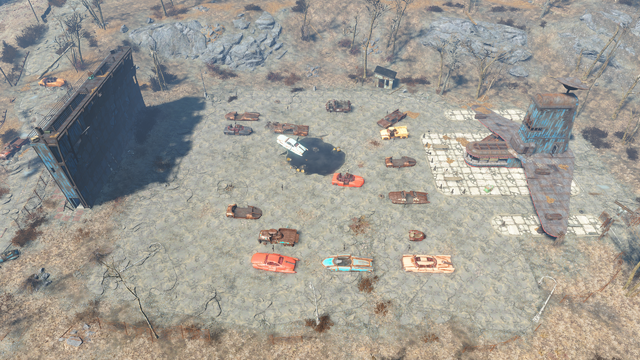 image fo4 starlight drive in aerial png fallout wiki fandom