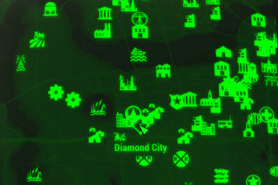 FO4 map Diamond City