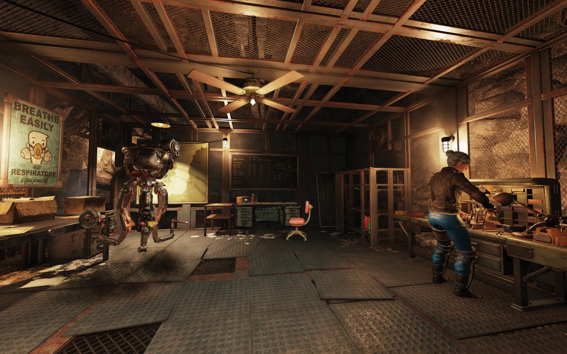 FO76 Overseer's home basement