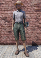FO76 Ranger Outfit Clean with Hat