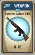 FoS Enhanced Assault Rifle Card