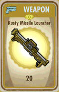FoS Rusty Missile Launcher Card