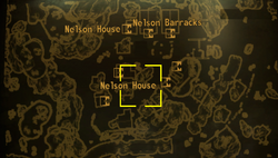 Nelson house map