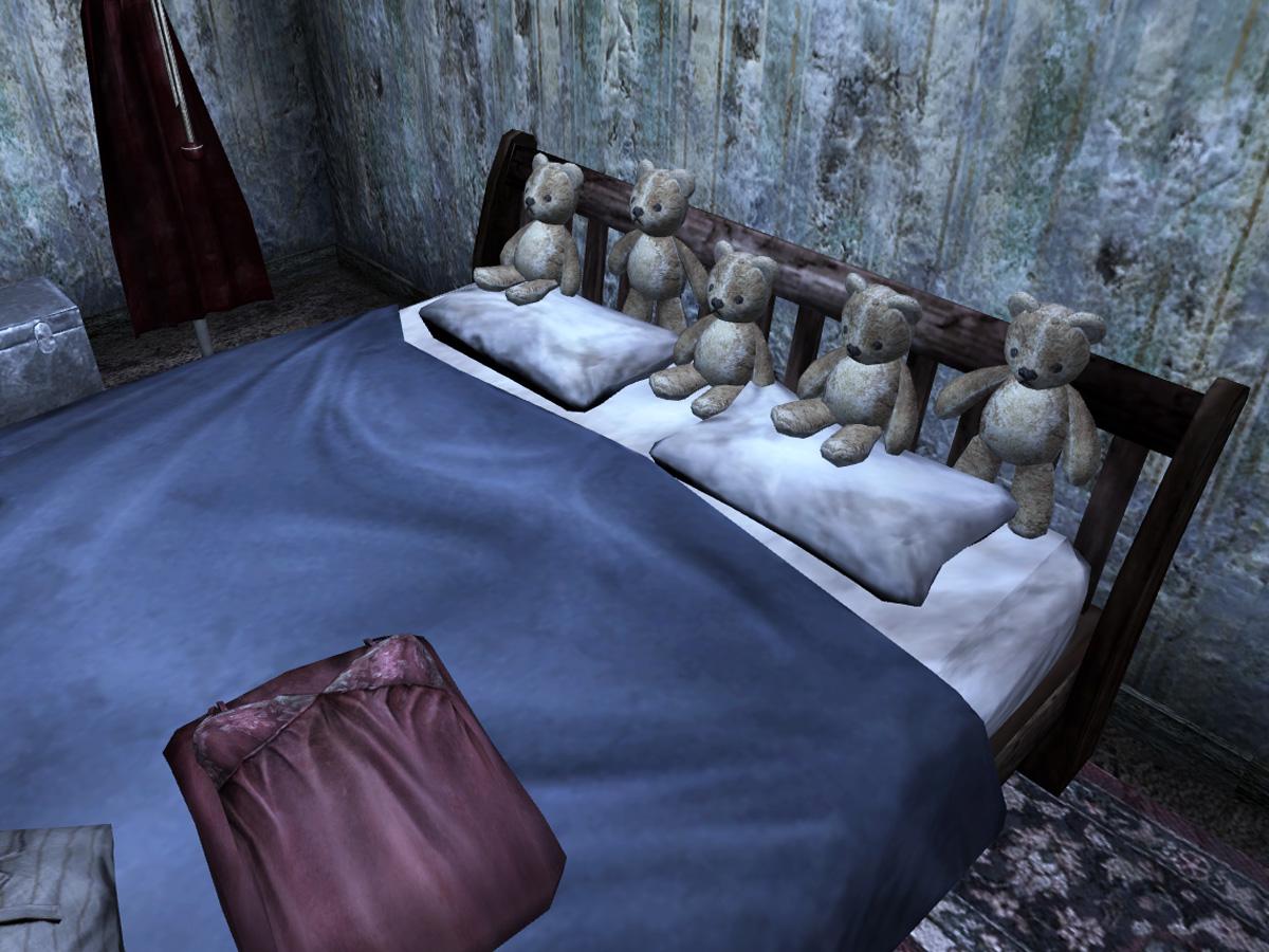 Teddy bears house 104 bed