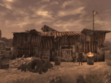 Camp Forlorn Hope barracks