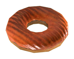 FO4CC Atomic Orange Donut