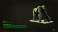 FO4NW LS Gorilla statue