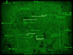 FO4 Релейная вышка 0SC-527 (карта мира)