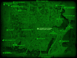 FO4 Тренировочная площадка Национальной гвардии (карта мира)
