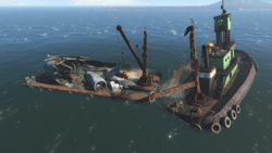 FO4 Skylines flight salvage