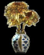 Floral barrel vase