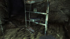 Radioactive supply cache