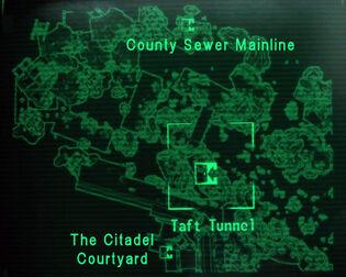 Taft Tunnel loc