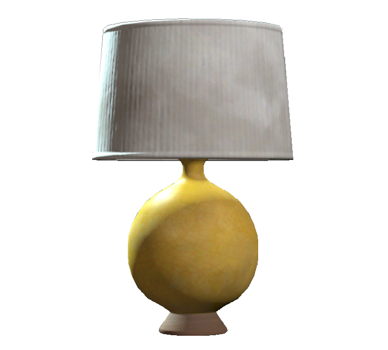 Lovely Yellow Table Lamp