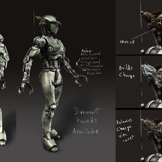 Older concept, with texturing that follows closer to Fallout 3's artstyle