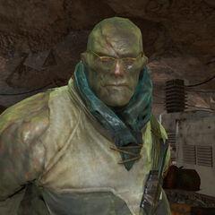 Brian Virgil in mutant form