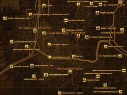FNV Карта СКОРПИОНЬЯ НОРА
