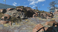 FO4 Rotten Landfill east entrance