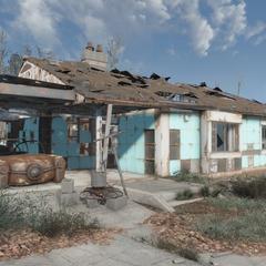 Будинок Рассела після війни
