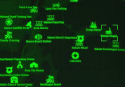 FO4 map Nahant Chapel