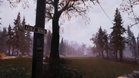 FO76 Location road sign new 15